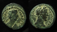 Ancient Coins - SYRIA, Decapolis. Capitolias. Commodus. AD 177-192. Æ (24mm, 9 g). Dated CY 93 (AD 189/90).