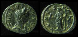 Ancient Coins - Severina Billon Denarius. Rome mint. Rare!