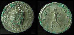 Ancient Coins - POSTUMUS, 260-269 AD. ANTONINIANUS. PAX. BOLD DETAILS