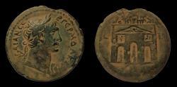 Ancient Coins - Egypt, Alexandria. Trajan. AD 98-117. AE 35 mm Drachm. Rare