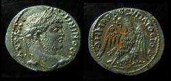 Ancient Coins - Caracalla Silver Tetradrachm of Damascus, Syria. EF!