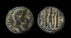 Ancient Coins - Syria, Decapolis. Gadara. Marcus Aurelius. AE 25 mm. Weight: 8.36 gm.