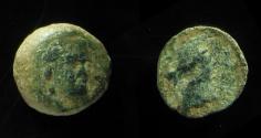 Ancient Coins - Seleukid Kingdom, Antiochos III AE 15mm, 220-187 BC. EX-RARE!!!