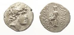 Ancient Coins - Seleukid Kingdom. Alexander I Balas, 150-145 BC. Silver Drachm, struck at Antioch.