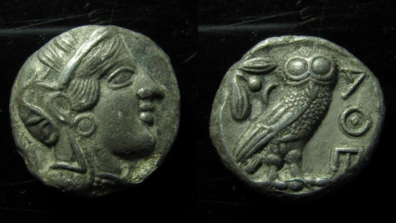 Ancient Coins - ATTICA ATHENS. Imitation of an Athenian Tetradrachm (Silver) circa 400 BC, Uncertain Eastern mint. Ex-RARE!