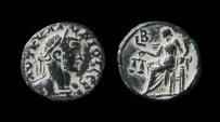 Ancient Coins - Egypt. Alexandria, Claudius II. Potin Tetradrachm.