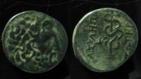 Ancient Coins - Mysia, Pergamon. After 133 BC. AE 19mm.