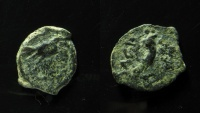 Ancient Coins - Herod I (The Great). 40 BC. - 4 BC. AE Lepton.