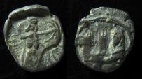 Ancient Coins - PHOENICIA, Sidon Silver 1/16 shekel. ca 410-400 BC.