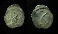 Ancient Coins - Anonymous. Bust of Constantinopolis. 1/3 Siliqua, 0.67g. Constantinople, c. 530-580 AD.