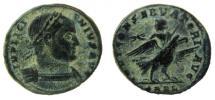 Ancient Coins - Licinius I, 308-324 AD. AE Follis. Arelate (Arles) mint.