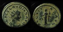 Claudius II Gothicus Silvered AE or Billon Antoninianus. Rome mint.