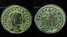 Ancient Coins - Severus II, AE follis, Cyzicus mint. 306 AD. 25mm, Rare!