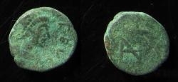 Ancient Coins - ZENO. Second Reign, 476-491 AD. Æ 10mm