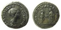 Ancient Coins - Plautilla, 202-205 AD. AR Denarius. Rome mint.