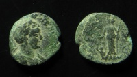 Ancient Coins - Judaea, Ascalon. Elagabalus. 217/8 AD, AE 20 mm. Rare!