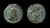 Ancient Coins - Egypt, Alexandria. Carinus. Bilon Tetradrachm.