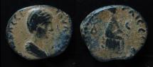 Ancient Coins - Caesarea Paneas, Plautilla, (198 - 217 AD). AE 26 mm. EX-Rare!