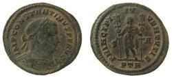 Ancient Coins - Constantine I, 307-337 AD. AE Follis. Treveri (Trier) mint.