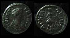 Ancient Coins - THRACE, ANCHIALUS. GETA as CAESAR. 198-209 AD. ARTEMIS, QUIVER AND BOW