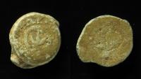 Ancient Coins - Judaea, Alexander Jannaeus. Lead tessera