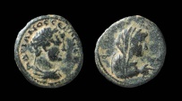 Ancient Coins - Decapolis, Philadelphia. Hadrian, 117-138 AD. AE 19 mm.