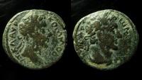 Ancient Coins - Decapolis, Gadara. Commodus AE 25 mm.