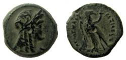Ancient Coins - Ptolemaic Kingdom. Ptolemy IV Philopator, 221-204 BC. AE 17 mm. Alexandria mint.