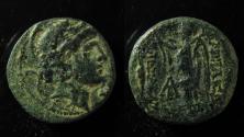 Ancient Coins - Seleukid kingdom, Alexander I. Balas, Antioch, AE 18mm; 6.1g.
