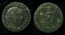 MAXIMINUS II AE Follis. 311 AD. Cyzicus Mint,  24mm (6.3g) By Jove...