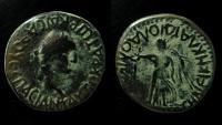 Ancient Coins - LYCAONIA, Laodicea Combusta. Vespasian. AD 69-79. AE 24 mm Trihemiassaria. Rare.
