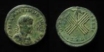 Ancient Coins - Constantine II. AE 19 mm, Follis. Thessalonica mint. Ex-Rare!
