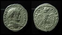Ancient Coins - MESOPOTAMIA, Carrhae. Caracalla. Silver Tetradrachm. AD 198-217. Rare. Superb coin!