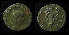 Ancient Coins - CLAUDIUS II GOTHICUS, 268-270 AD. Silver Antoninianus, RARE!