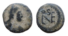 Ancient Coins - Leo I, 457-474 AD. AE 10 mm. Uncertain mint.