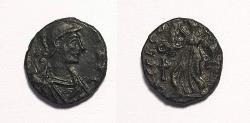 Ancient Coins - Zeno and Leo Caesar, 476-477. Nummus, AE 13 mm, Constantinopolis. RARE!