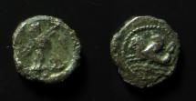Ancient Coins - Phoenicia, Tyre. Circa 377-357 BC. AR 1/24 Shekel (0.7 gm).