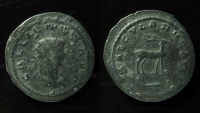 Ancient Coins - Gallienus. AD 253-268. Antoninianus  21mm,  Antioch mint. 11th emission, AD 264-265. RARE!