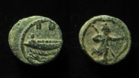 Ancient Coins - Phoenicia, Sidon. AE 15 mm. Very Rare!