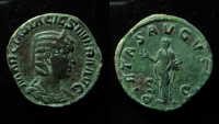 Ancient Coins - Otacilia Severa. Augusta, wife of Philippus I. AD 244-249. Æ Sestertius