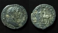 Ancient Coins - Trajan, 98 – 117, Silver Denarius circa 112-117,  (3.1 g)