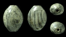 Ancient Coins - Iron Age Agate Seed Bead. large example!