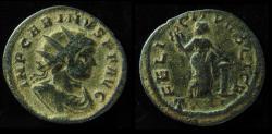 Ancient Coins - CARINUS,  Billon Antoninianus. Ticinum mint. VF