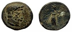 Ancient Coins - Phoenicia. Dora. Time of Vespasian. AE 24 mm.