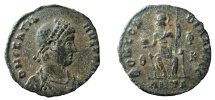 Ancient Coins - Gratian, 367-383 AD. AE 18 mm. Antioch mint.