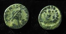 World Coins - VANDALS, IMITATION OF THEODOSIUS II , 10MM, RARE!  BEAUTIFUL EXAMPLE!