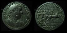 Ancient Coins - LYDIA, Sardes. Gordian III. 238-244. Magistrate Aur. Rufeinos.  AE36mm. Huge Medallion, Ex-RARE!!!