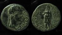 Ancient Coins - PHRYGIA, Aezanis. Gaius (Caligula). AD 37-41. Æ 20mm