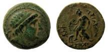 Ancient Coins - Seleukid Kingdom. Antiochos I, 280-261 BC. AE 19 mm.