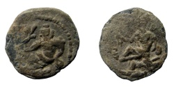 Ancient Coins - Egypt, Alexandria. Lead tessera. 22 mm.